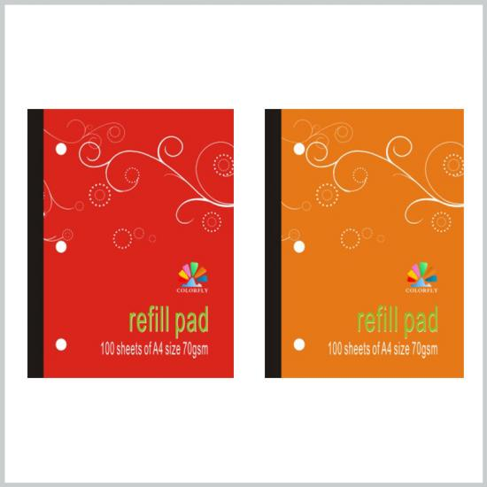 70gsm A4 school refillable notebook