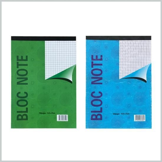 Office supplies A5 bloc note personalise